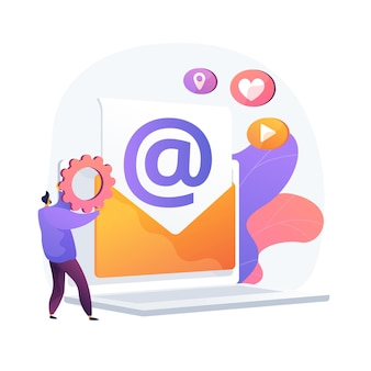 Correio eletrônico. recebendo e enviando e-mails. troca de mensagens por dispositivo eletrônico. conexão com a internet, comunicação, correspondência.