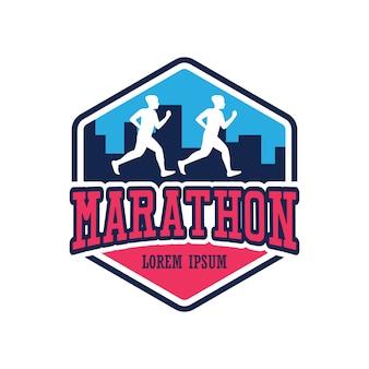 Correndo corrida pessoas / maratona