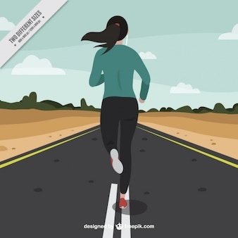 Correndo experiência