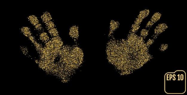 Corretores, mão, sinais