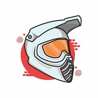 Corrida de capacete
