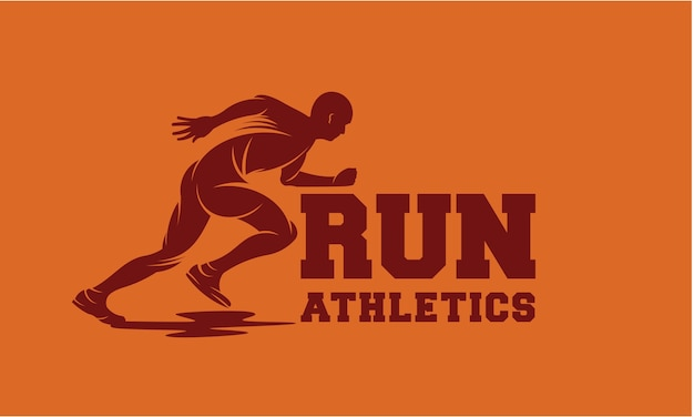 Corrida e maratona logo vector