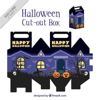 Cortar a caixa de casa assombrada