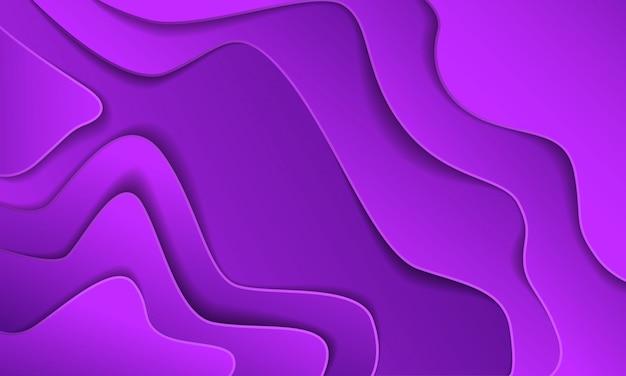 Corte de papel abstrato