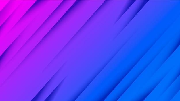 Corte de papel diagonal do fundo gradiente abstrato.