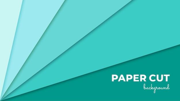 Corte de papel fundo realístico em relevo