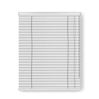 Cortinas de janela isoladas realistas. ilustração