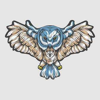 Coruja voadora