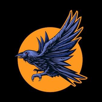 Corvo voar
