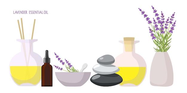 Cosméticos orgânicos e naturais aroma difusor de plantas medicinais bouquet equilíbrio pedras aroma óleo