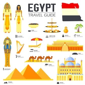 Country egypt viagens férias guia de mercadorias