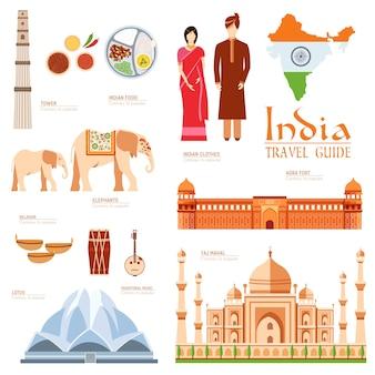 Country india viagem guia de férias de bens