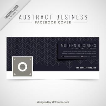 Cover abstract facebook negócios