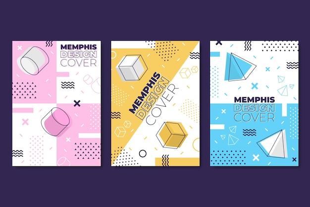 Cover pack estilo memphis