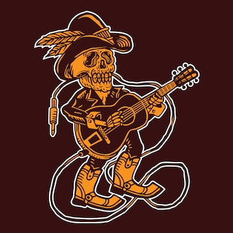 Cowboy crânio