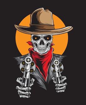 Cowboy do oeste selvagem