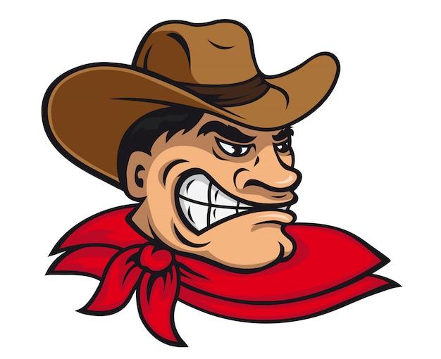 Cowboy dos desenhos animados