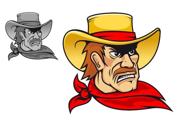 Cowboy irritado