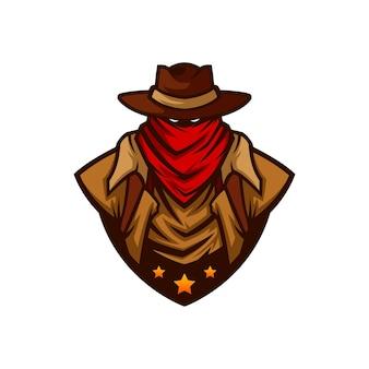 Cowboy vector mascot