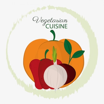Cozinha vegetariana ingredientes vegetais natureza orgânica