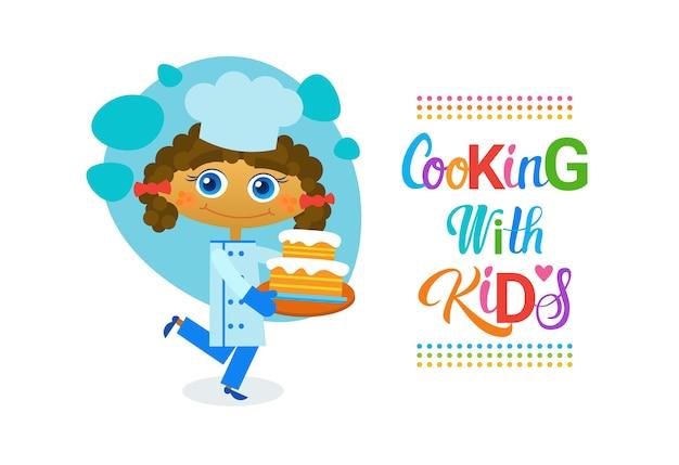Cozinhando com crianças de crianças culinária classes