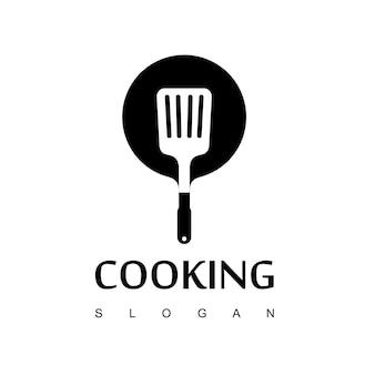 Cozinhar logo design vector