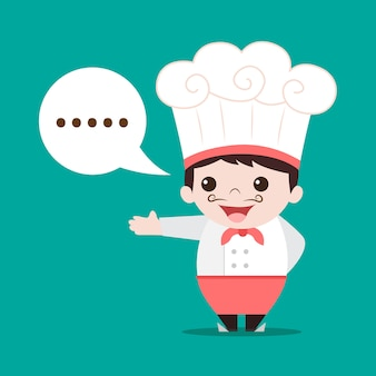 Cozinheiro chefe dos desenhos animados
