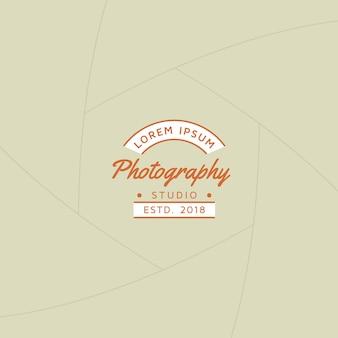 Crachá de fotografia ou rótulo