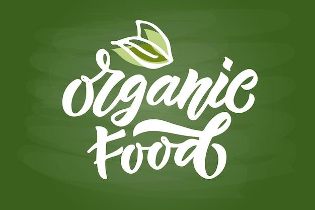 Crachás e etiquetas desenhados à mão com alimentos crus veganos vegetarianos, ecológicos, naturais, sem glúten fresco e sem transgênicos