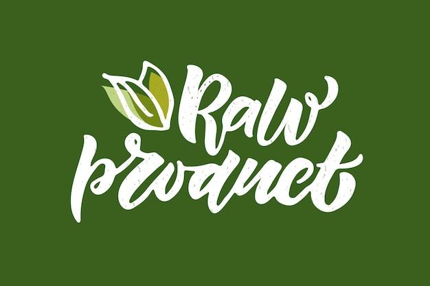 Crachás e etiquetas desenhados à mão com glúten eps10 vegetal vegan cru ecológico natural fresco