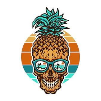 Crânio de abacaxi