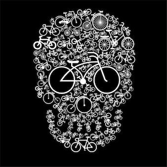 Crânio de bicicleta