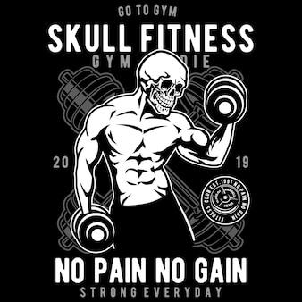 Crânio de fitness
