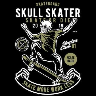 Crânio de skatista