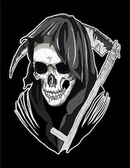 Crânio morte santa