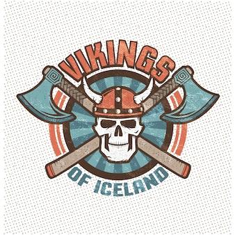 Crânio viking