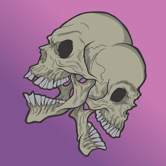 Crânios gêmeos