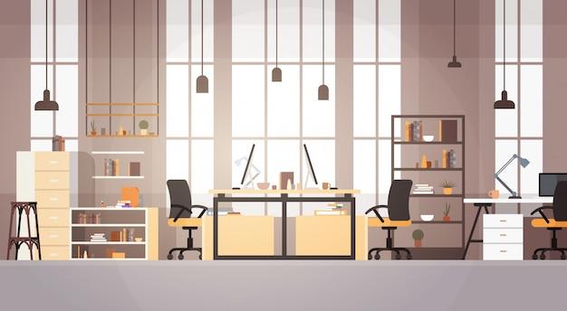 Creative office co-working center campus universitário modern workplace
