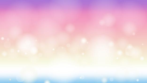 Crepúsculo gradiente bokeh abstrata página da web tamanho da tela de fundo