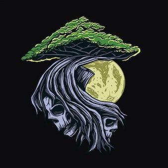 Cresça e tome o projeto do t-shirt da raiz