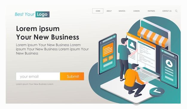 Criação de aplicativos para compras online e e-commerce