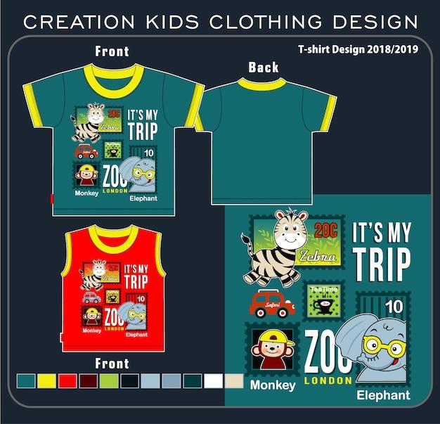 Criação de roupas infantis