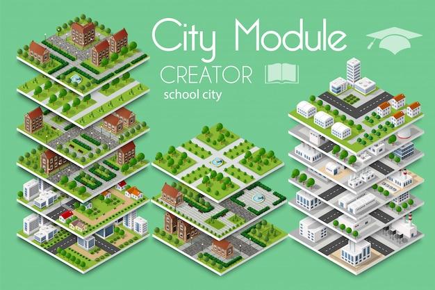 Criador de módulo da cidade