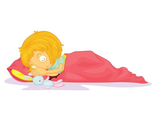 Criança, ilustração