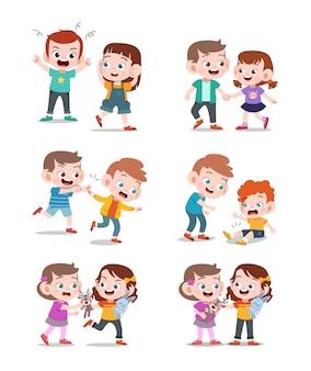 Crianças boas e más