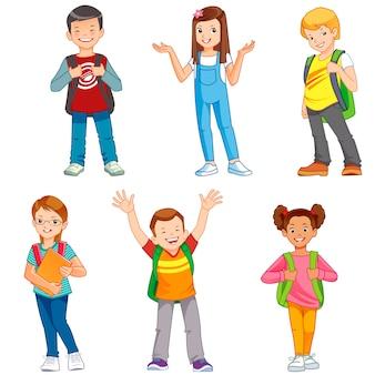 Crianças da escola