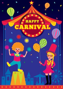 Crianças de carnaval