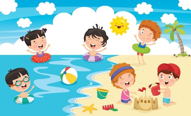 Crianças de verão