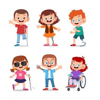 Crianças desabilitadas