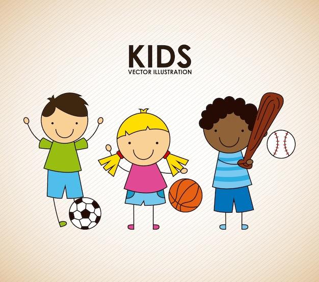 Crianças design